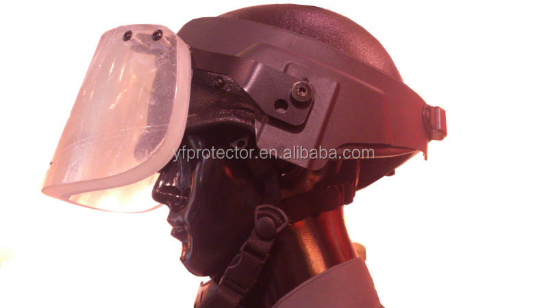 pasgt keveler Ballistic helmet with Ballistic screen