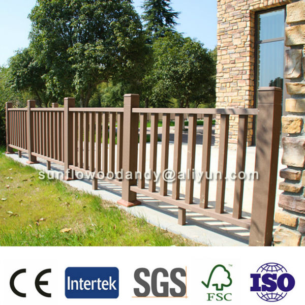 Decorating Outdoor WPC Balustrade