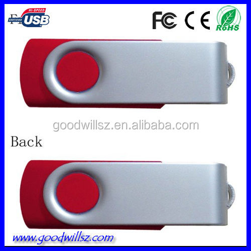 Hot selling swivel usb flash drive for Promotional Gift,usb pen drive with customized logo,sample available,1/2/4/8/16/32gb,DHL