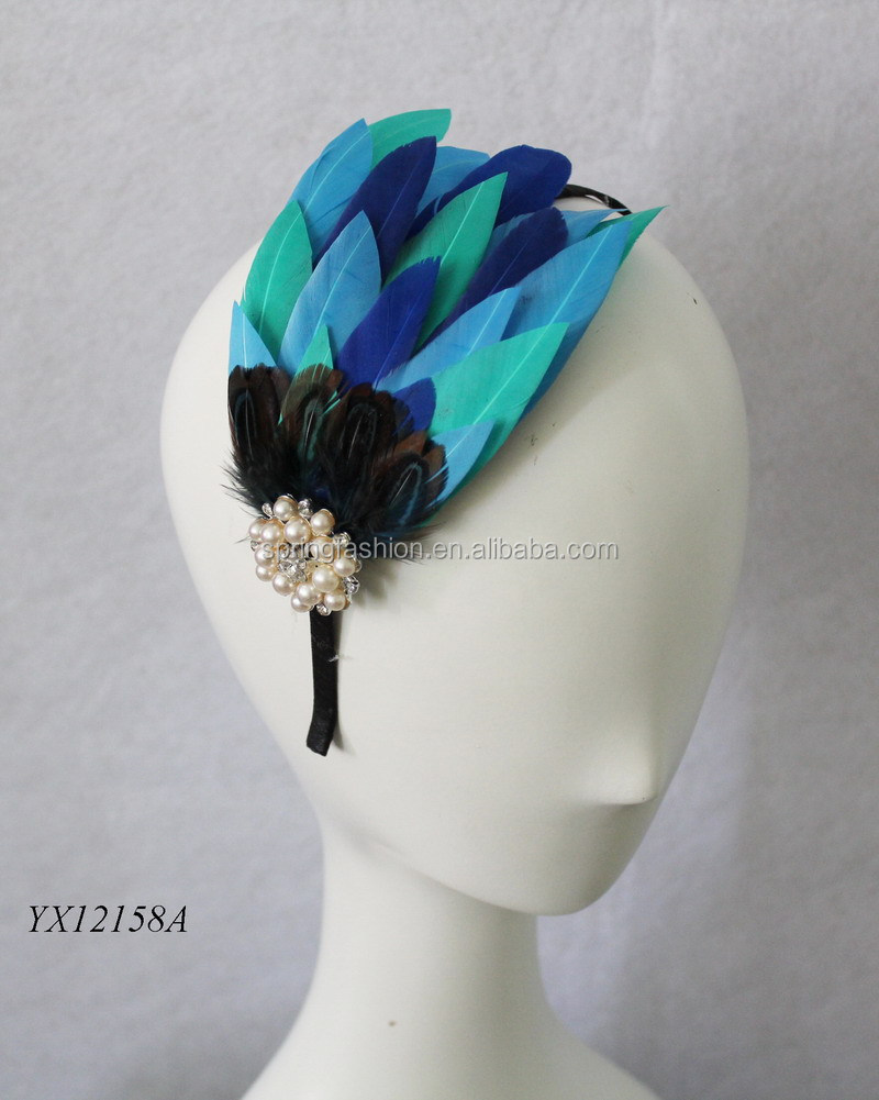 Gorgeous ladies headband fascinator for Kentucky Derby Church Wedding Party