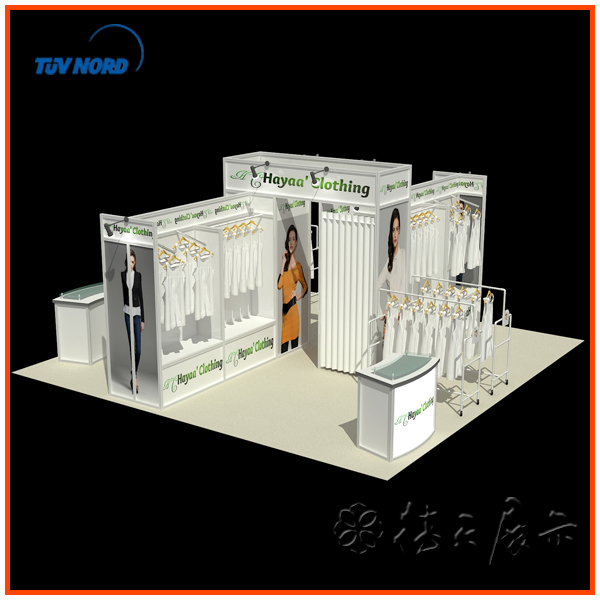 Fashion Outdoor Trade Show Booth Mobile Phone Exhibition Display View Outdoor Trade Show Booth