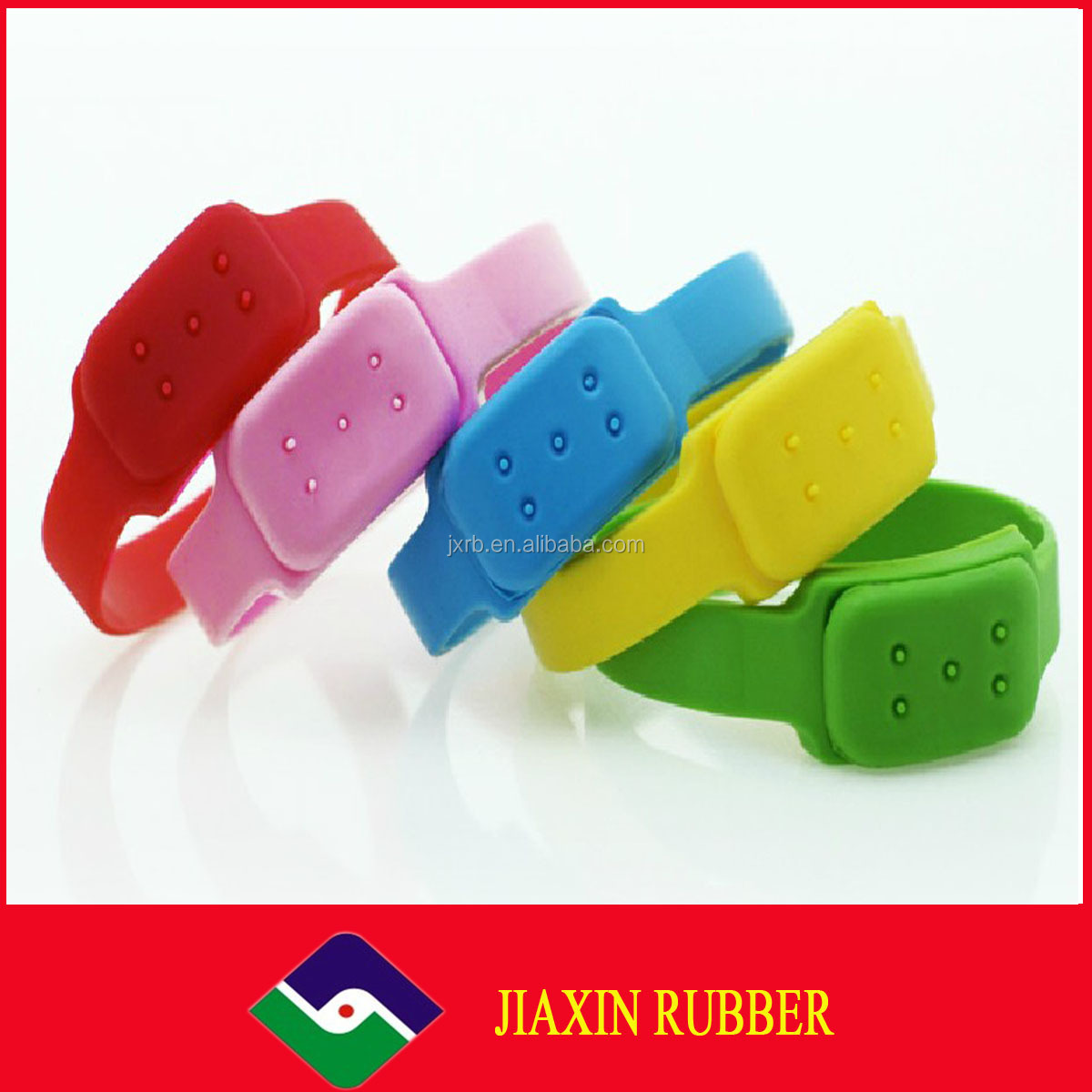 2014 silicone Mosquito repellent bracelet for children/adult