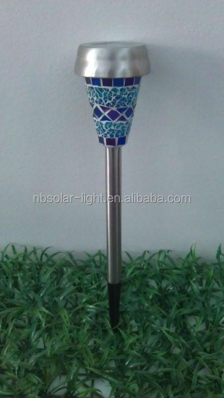 Mosaic Solar Powered Garden Stick Lights Buy Mosaic