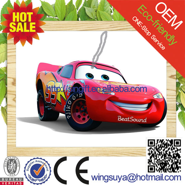 new car scent custom make hanging paper car perfume wholesale