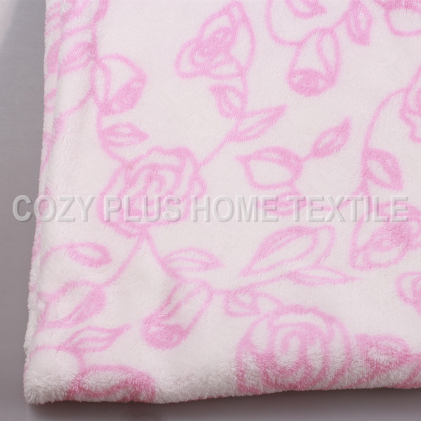 Printed Coral Fleece Coral Velvet Home textile Fabric Soft Handfeel Keep Warm