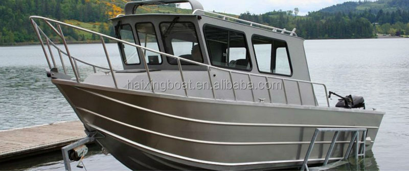 Fishing trawlers for sale cabin cruiser boat buy for Aluminum boat with cabin for sale