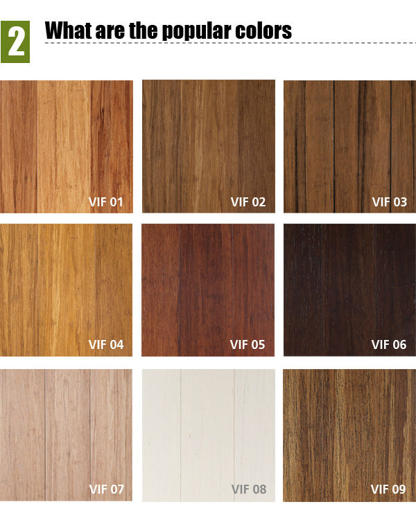 Cheap Affordable Strand Woven Click Lock Bamboo Flooring