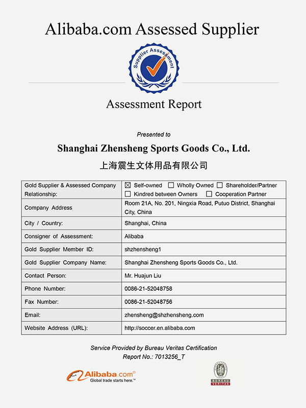 Zhensheng PU competition football