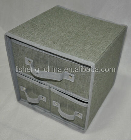 LS-1404B29 Storage box with 3drawer