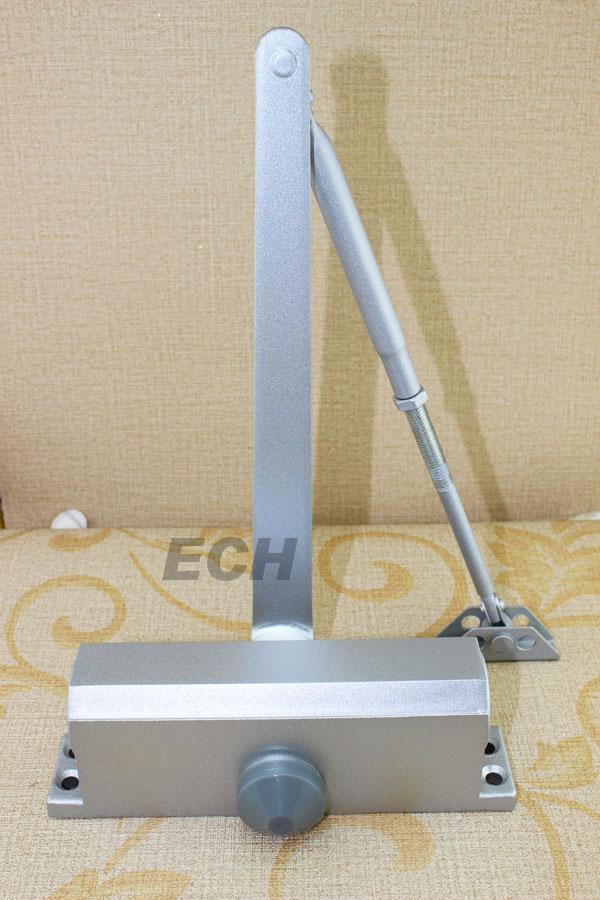 silver Aluminum alloy new star hydraulic door closers spring sliding