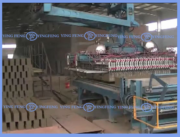New technology!!! ,auto clay brick robot for tunnel kiln
