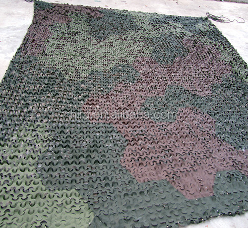 Military garnish camouflage net Military objects stealth gloss anti radar Multi Spectral Camo netting