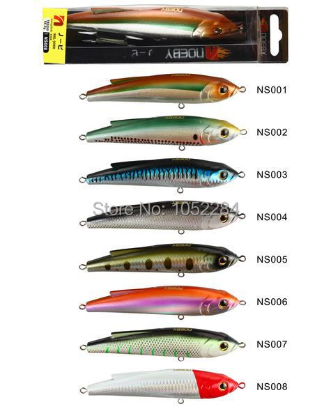 2015 NOEBY hard fishing baits sinking pencil lure