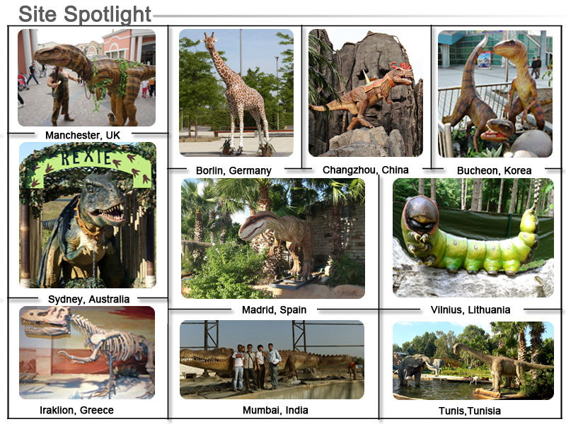 Amusement Park Equipment Simulation Animal Model
