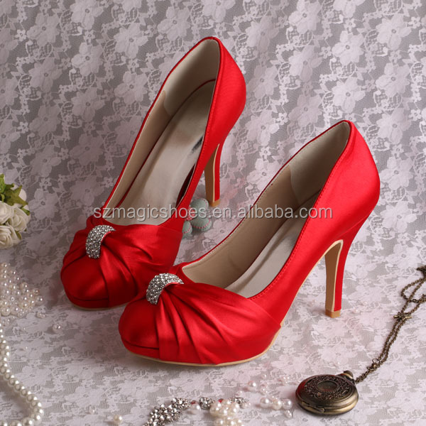 (15 Colors) Bulk Order High Heels Hot Pink Shoes Bridesmaid