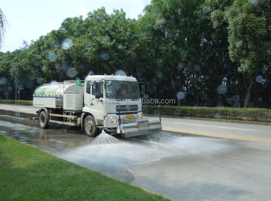 Cheap 4*2 8m3 water tank, water tank truck for sale