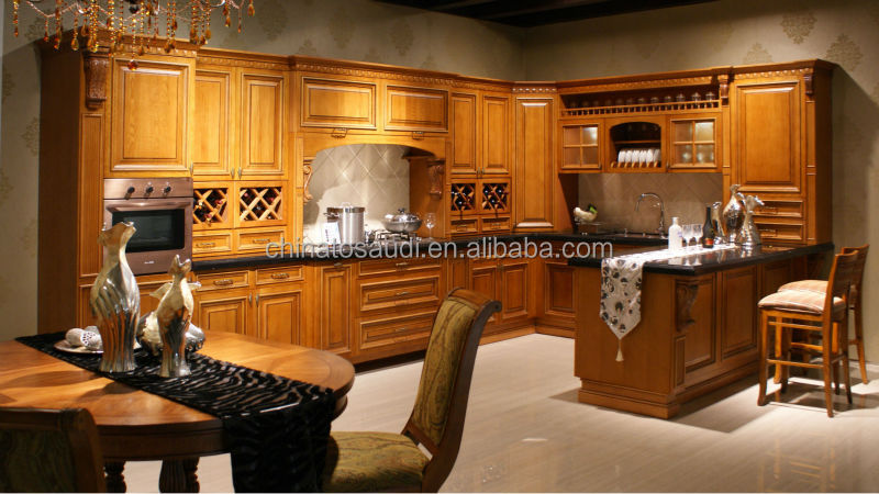 High Gloss Wood Veneer Lacquer Kitchen Cabinet S25