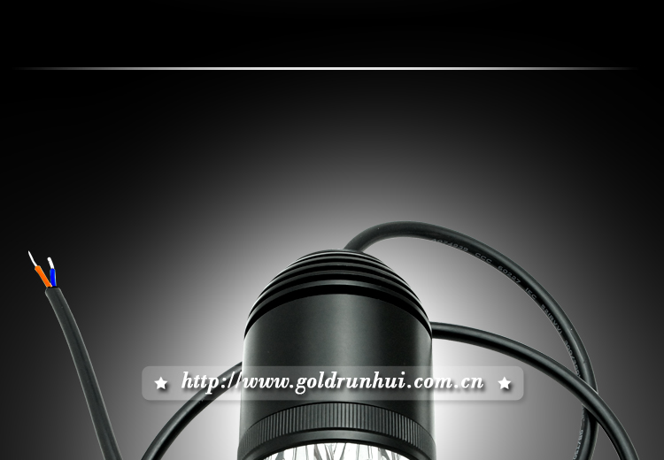 "Goldrunhui RH-B0141 2"" 10-30V 30W Motorcycle Headlight Offroad LED Work Light Lighting Lamp"