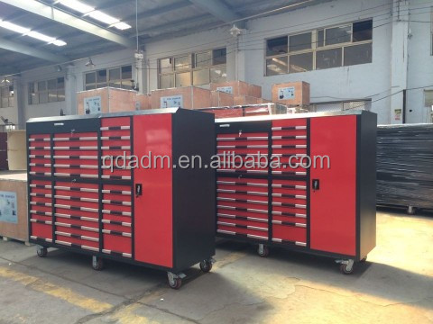 OEM factory garage workshop industrial heavy duty metal steel tool cabinet
