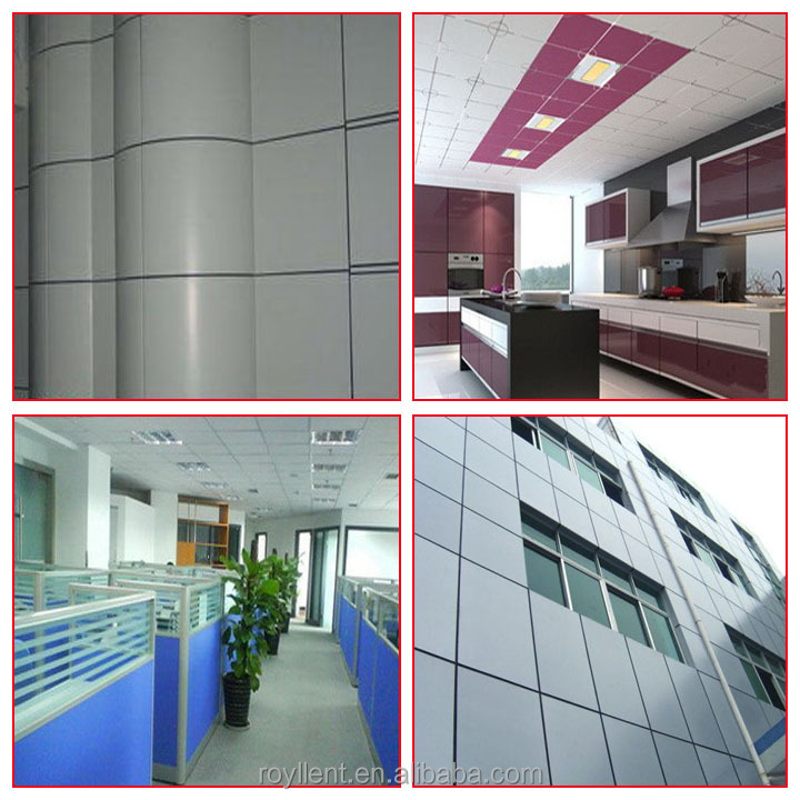 plastic core aluminium composite panel