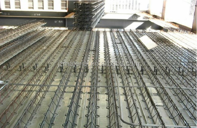 high quality truss girder /factory steel bar truss decking sheet /composite floor steel decking sheet