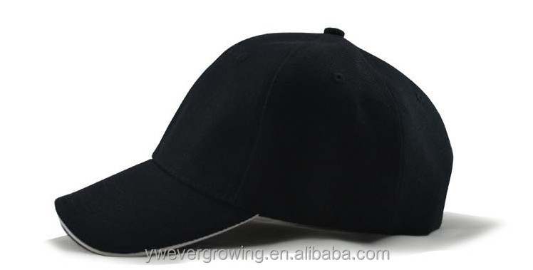 Promotional OEM Design your own Baseball Caps sandwich cheap baseball caps without logo