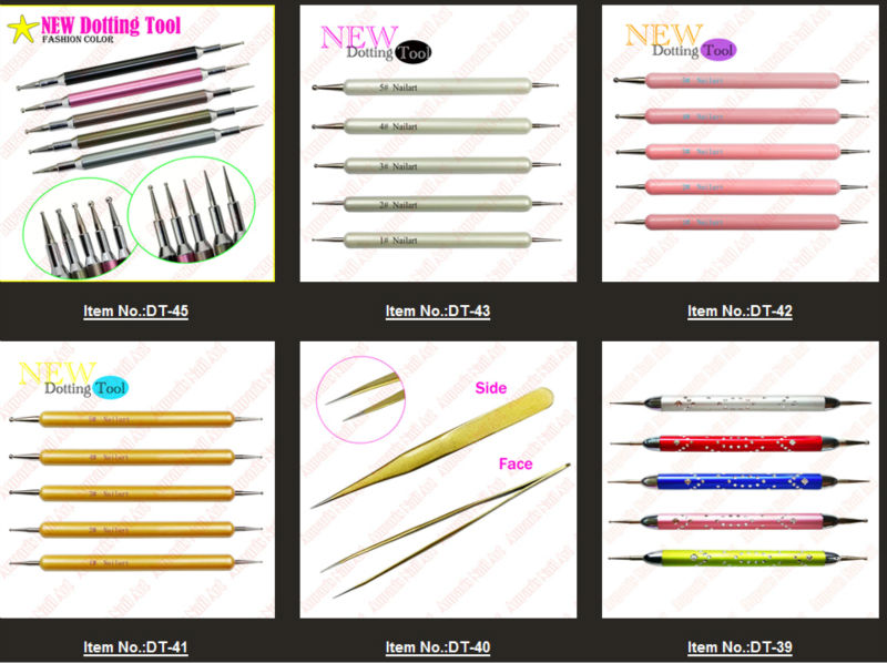 Nail Art Design Tool Kit To Bend Light