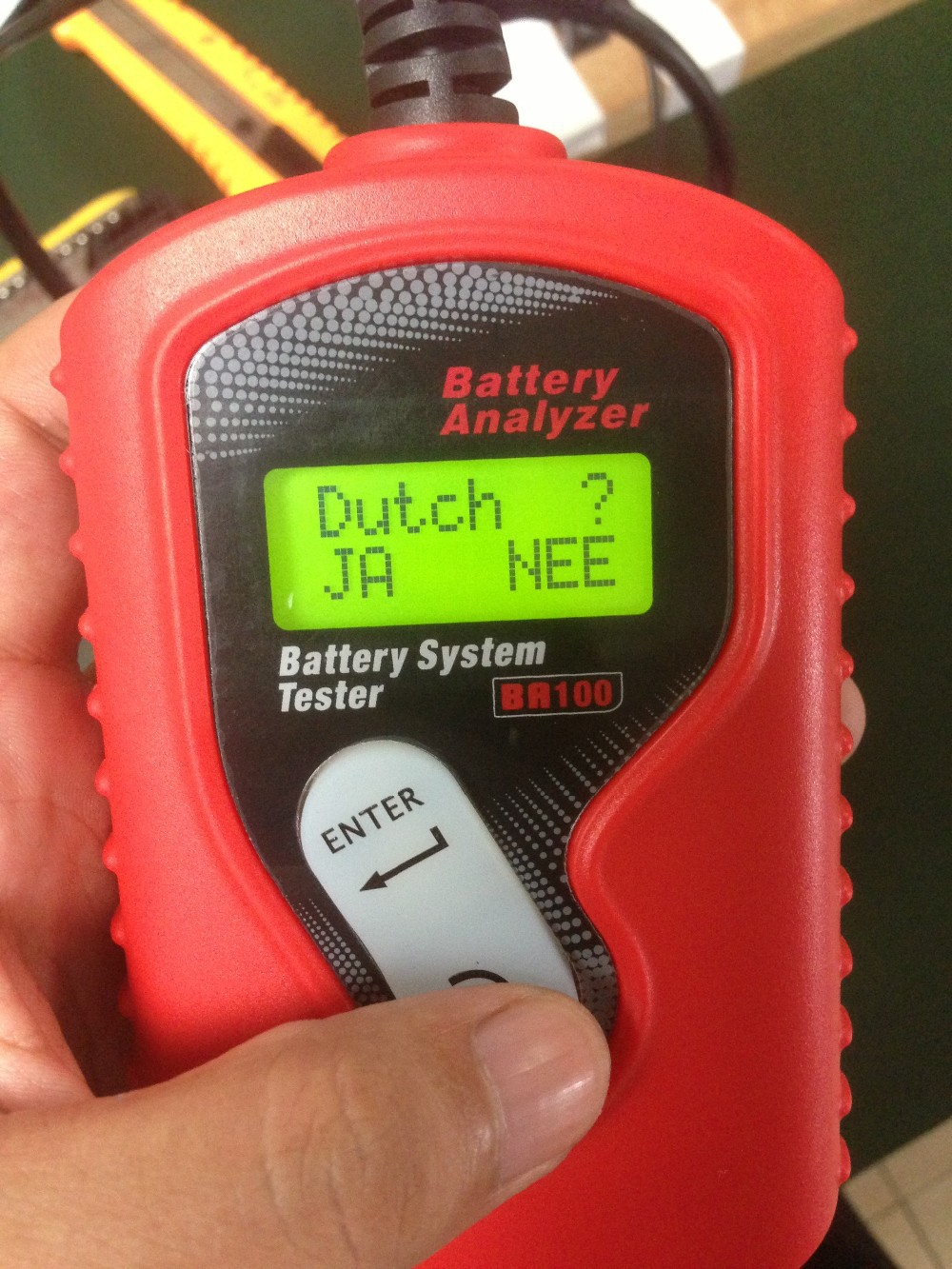 Hot!!!automotive battery tester/car battery tester