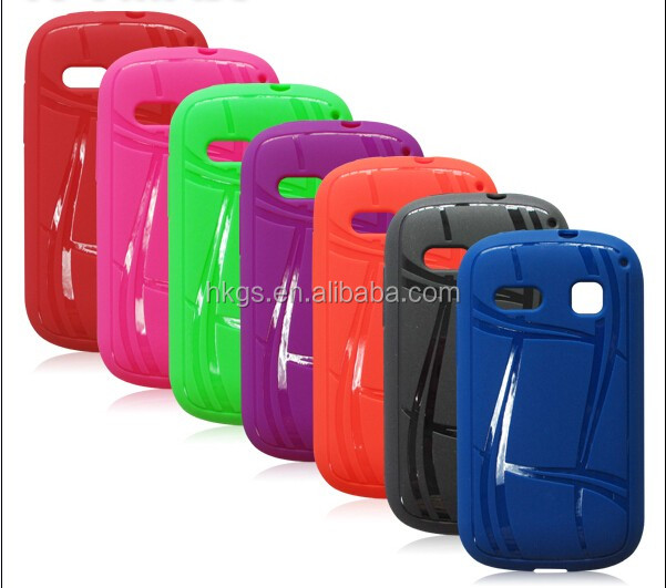 Colorful Rainbow Gel Soft Silicone Tpu Case Cover For Alcatel one touch pop c3 4033 4033D