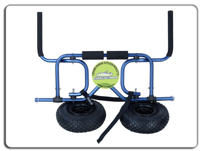 Fishing trolley cart folding kayak cart canoe cart buy for Folding fishing cart