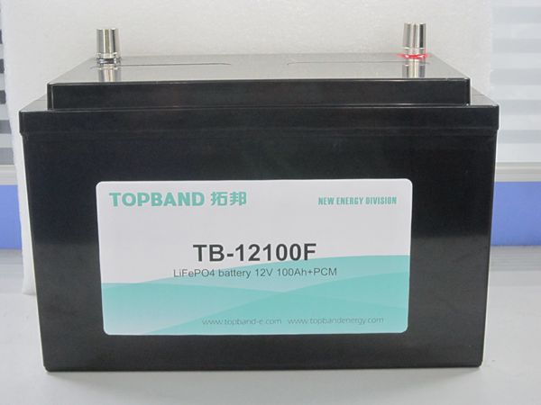 Long life lithium LiFeO4 LFP battery 12V 100Ah TB12100F