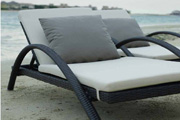 All Weather Wicker Outdoor Round Rattan Daybed