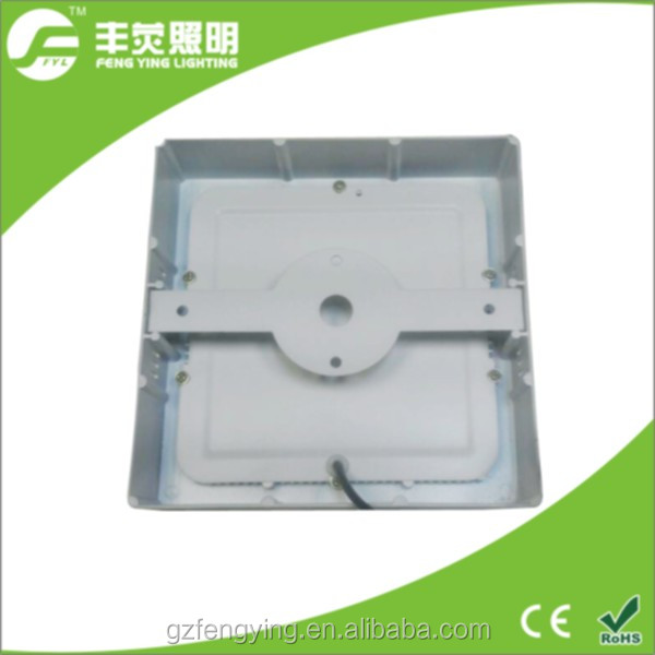 24w square surface alumium down light for office and supermarket