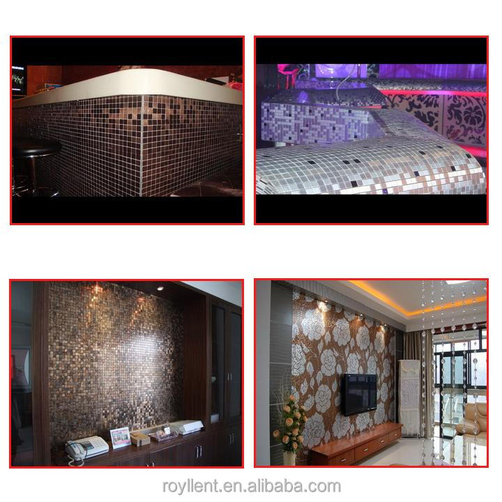 hot sale DIY metallic mosaic tiles for bathroom decor