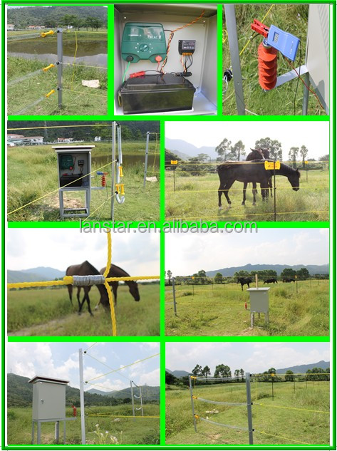 0.5J small energy farm fencing controller for poultry management,support solar power charge
