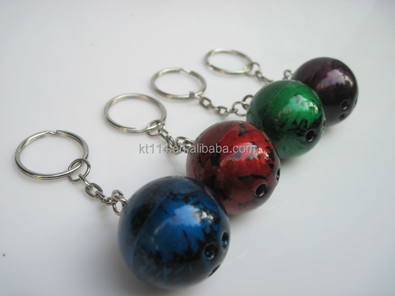 2016 hot sale discount bowling ball keychain