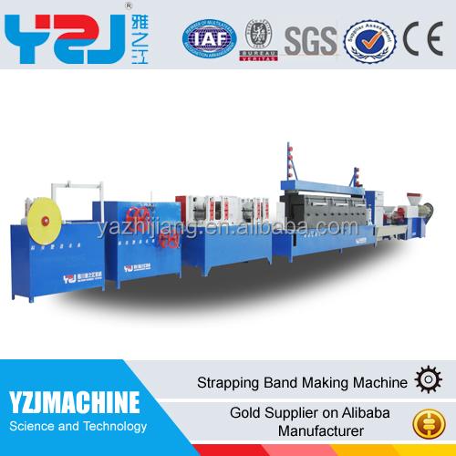 Yzj strap emballage en plastique faisant la machine pour le plastique pp pet - Machine pour recycler le plastique ...