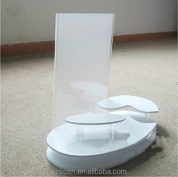 Newly good quality best price acrylic cosmetic store display with store display for sale
