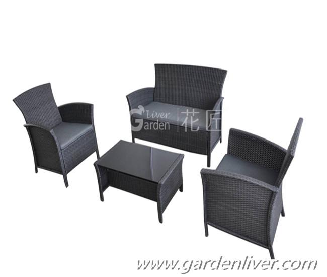 outdoor wicker rattan patio furniture sofa sets luxury
