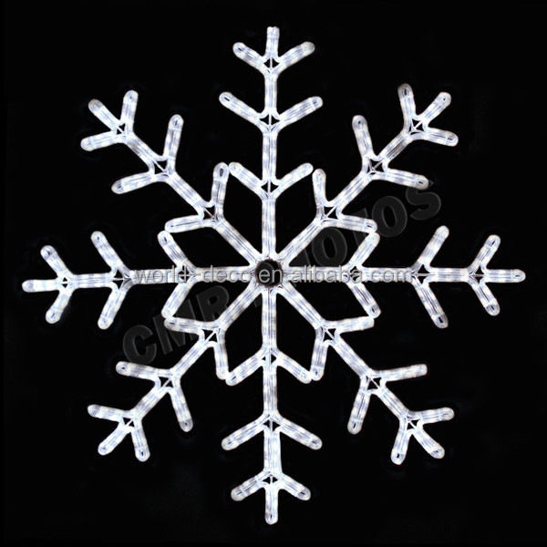 Christmas Window Hanging Snowflake Lights Christmas