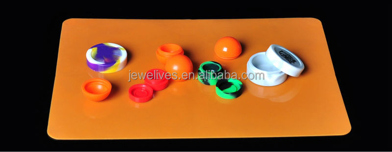 nonstick food grade silicone dab wax containers