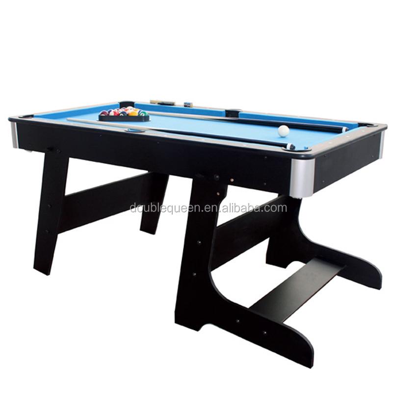 Foldable mini pool table with beautiful design billiard - Small pool table ...