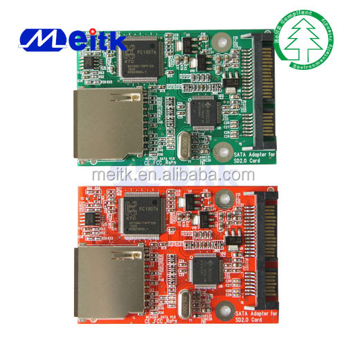 SD to SATA SDHC Card Adapter Converter Card