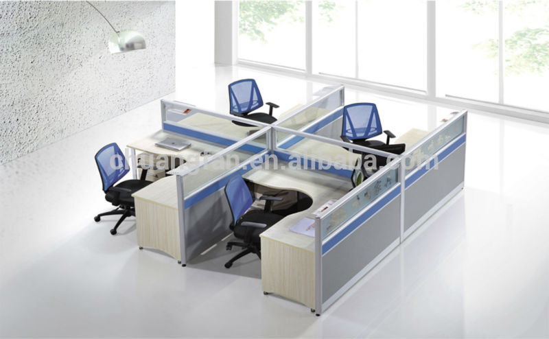 Glass Modular Aluminum Profile High Quality Workstation
