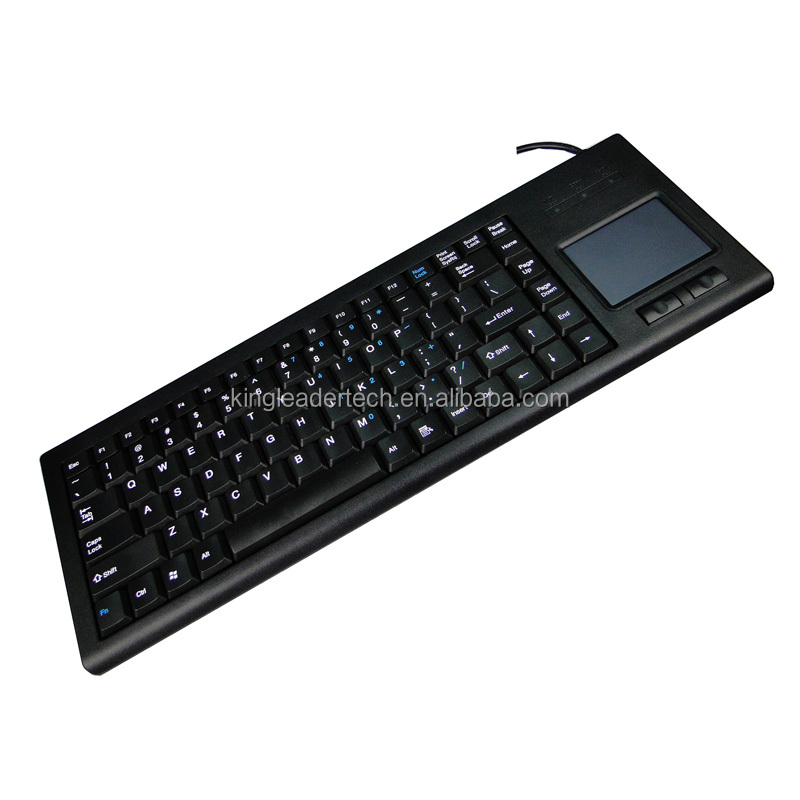 Durable Industrial computer keyboard with touchpad