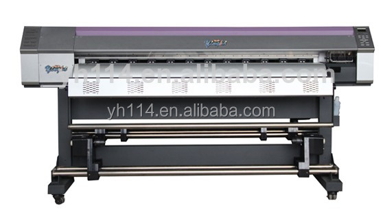1.6m 1.8m 2.5m 3.2m flex banner printer and digital paper printing