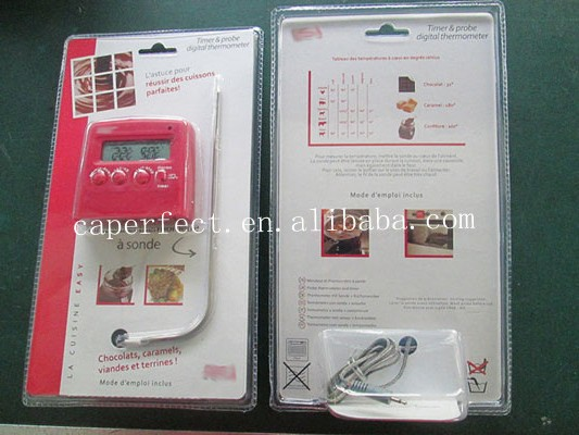 Hangzhou meat cooking thermometer and timer with probe