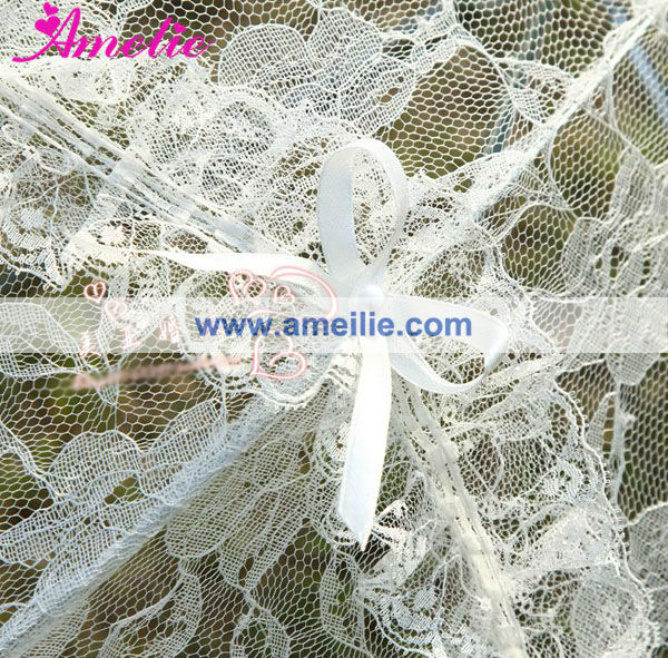New Cute white lace umbrella for wedding