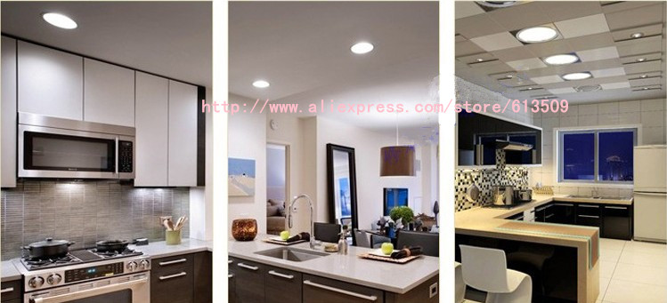 surface-mounted downlight led panel lighting ceiling light AC85-265V, Warm /Cool white, indoor lighting