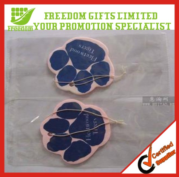 Promotional Customized For Car Paper Air Freshener